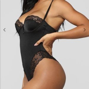 Fashion Nova Intimates & Sleepwear - Black Teddy Lingerie